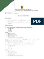 Economia - Lista 2