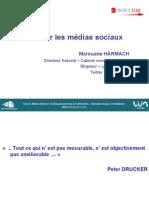 Metriques Et Mesures Dans Les Reseaux Sociaux consultor Marouane Harmach