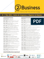 """Cimeira """"Time2Business - Business & Technology"""" na EXPONOR, Portugal"""