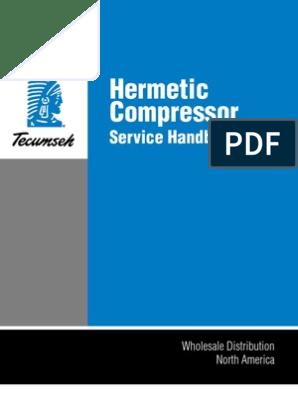 Tecumseh Service Handbook | Capacitor | Relay