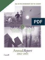 NRT Annual Report 2002-2003