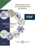 NRT Annual Report 2001-2002