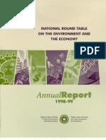 NRT Annual Report 1998-1999