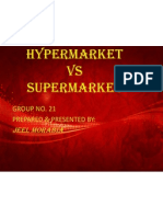 Hypermarket vs Supermarket Ppt