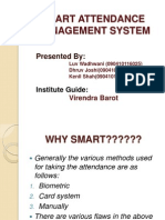 Smart Attendance Management Sytem