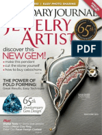 Lapidary Journal Jewelry Artist May June 2012