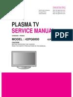 LG 42PQ6000 Plasma