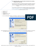 cÓmo instalar y configurar un servidor web y un sitio web en windows con apache