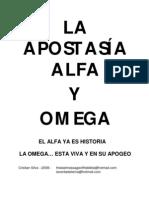 Apostasia Alfa y Omega