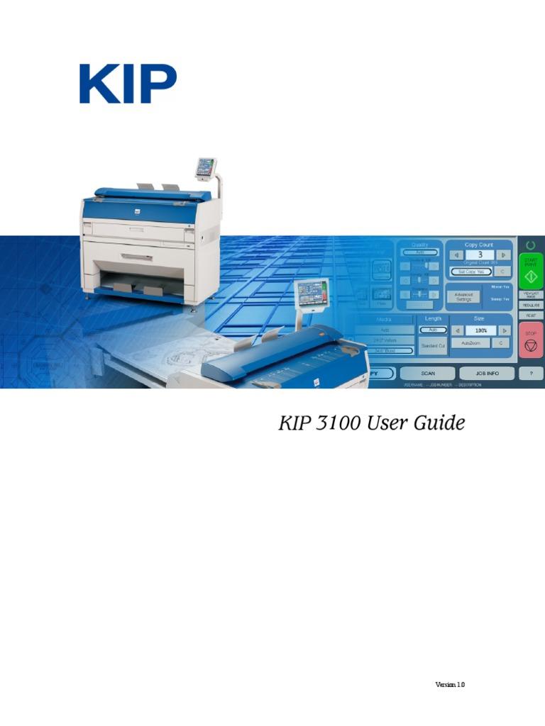 kip 3100 user manual