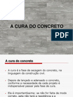 A Cura Do Concreto