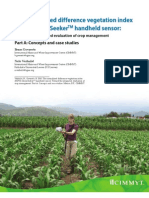 The normalized difference vegetation index (NDVI) Greenseeker(TM) handheld sensor