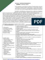 PAAES 2012 - conteúdos Química - 3a etapa