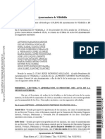 28122010 Acta Pleno 25.11.10 Ayuntamiento Villabilla