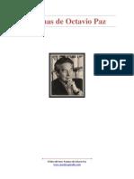 Poemas de Octavio Paz