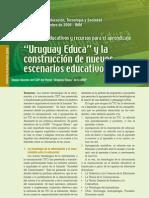 Artículo Uruguay Educa y la construcción de nuevos escenarios