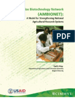 The Asian maize biotechnology network (AMBIONET)