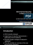 D1T2 - Mark Dowd & Tarjei Mandt - iOS6 Security