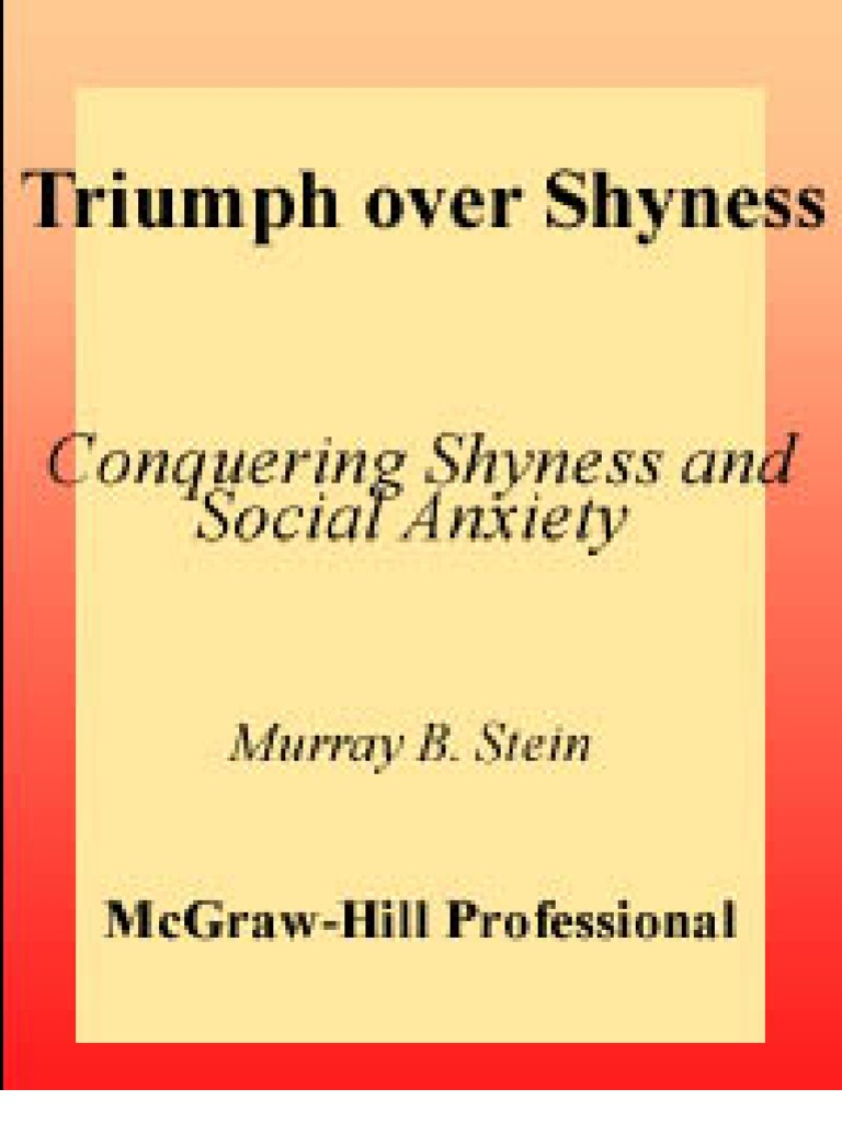 overcoming shyness and social phobia rapee ronald m