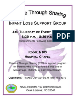 4th THURSDAY Infant Loss Support Group