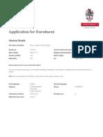Enrolment Form 1337939715