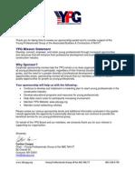 YPG Sponsorship Packet