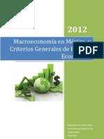 Macroeconomia en Mexico
