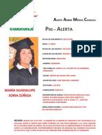 FICHA de MARIA GPE SORIA ZUÑIGA