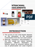 Disinfection of the Root Canal