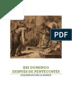 XXI domingopostpentecostes-homilía