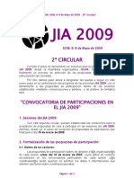 2a Circular JIA2009