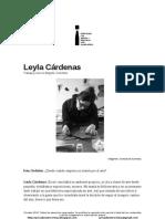 Privadoentrevistas Leyla Cárdenas