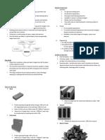 ECM 206 CHAPTER 5 Bricks and Masonry Concrete Bricks