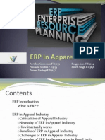 ERP in Apparel Industry