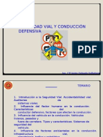 Seguridad Vial y Conduccion Defensiva