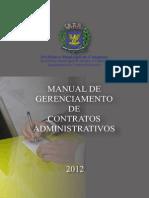 MANUAL GESTÃO CONTRATOS ADMINISTRATIVOS