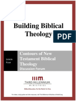 Building Biblical Theology - Lesson 4 - Forum Transcript