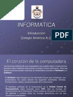 Introducción a la Informatica Colegio america