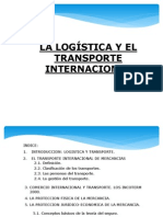 Logistica y Transporte Internacional.