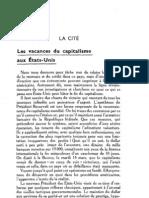 Esprit 7 - 15 - Dariège, Jean - Les vacances du capitalisme aux Etats-Unis