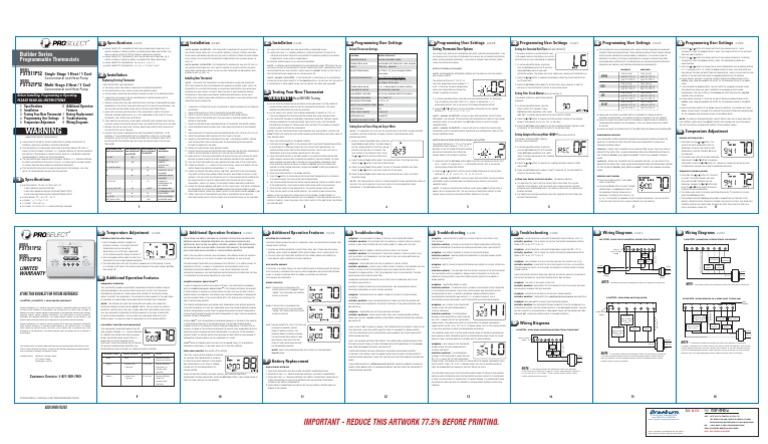 Proselect manual – air conditioning repair glendora | canyon air.
