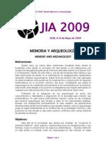 12-Memoria y Arqueología