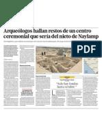 Arqueologia en Naylamp