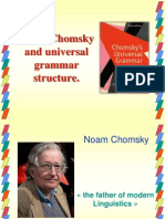 Noam Chomsky and Universal Grammar Structure
