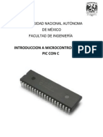 Introduccion a Microcontroladores Pic Con c