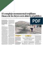 Huaca de Los Reyes Trujillo Al Turismo