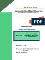 M03 Utilisation des différents matériaux de construction-BTP