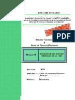 M06 Application notins général RDM AC CCTP-BTP-CCTP