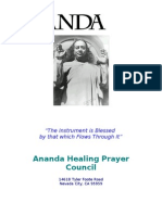 Ananda Healing Prayer Council
