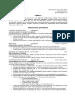 Maianne Resume - Oct 2012